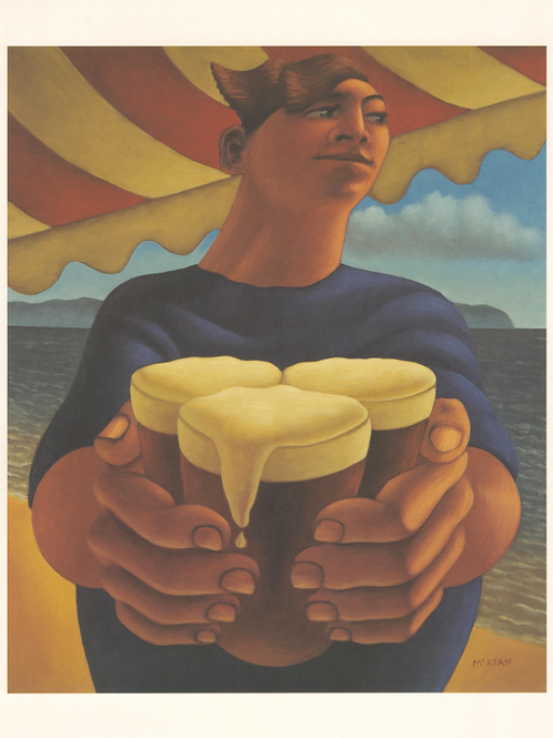 Boy With Beers