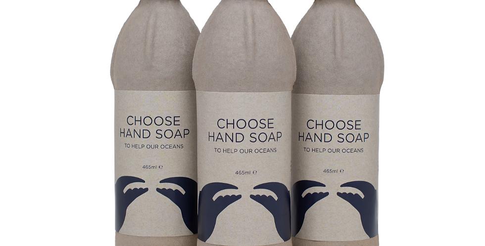 3x Bottles of Biodegradable Antibacterial Hand Soap