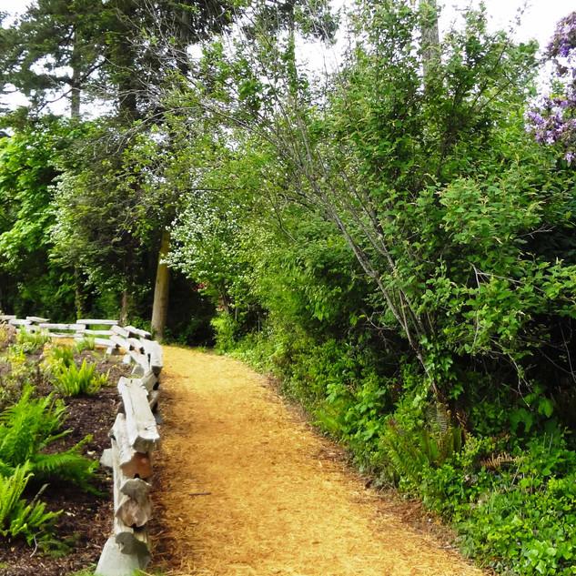 Path around Henderson golf course