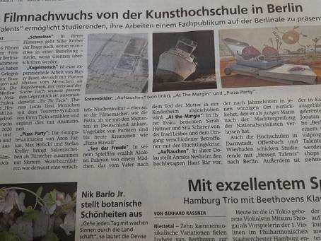 HNA berichtet über Hessen Talents und KUGELMENSCH