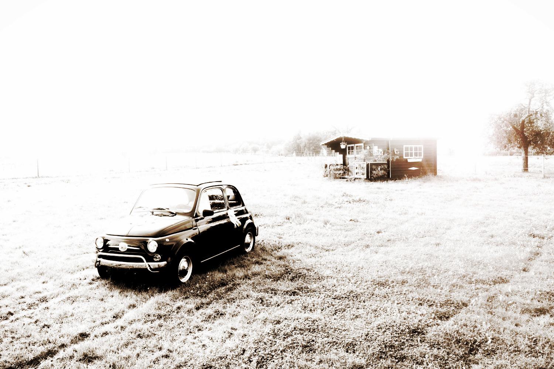 Hochzeit mit Fiat 500