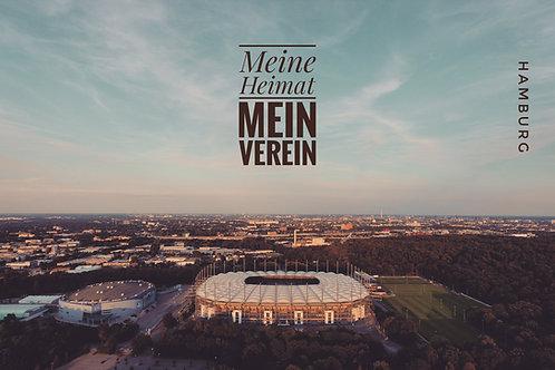 Hamburg – Meine Heimat I Leinwanddruck 120*80cm
