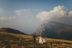 Drohnenbild Hochzeit in Tirol