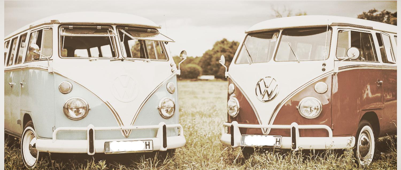 VW Bulli T1 Bus Hochzeitsauto mieten