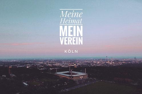Köln – Meine Heimat I Leinwanddruck 120*80cm