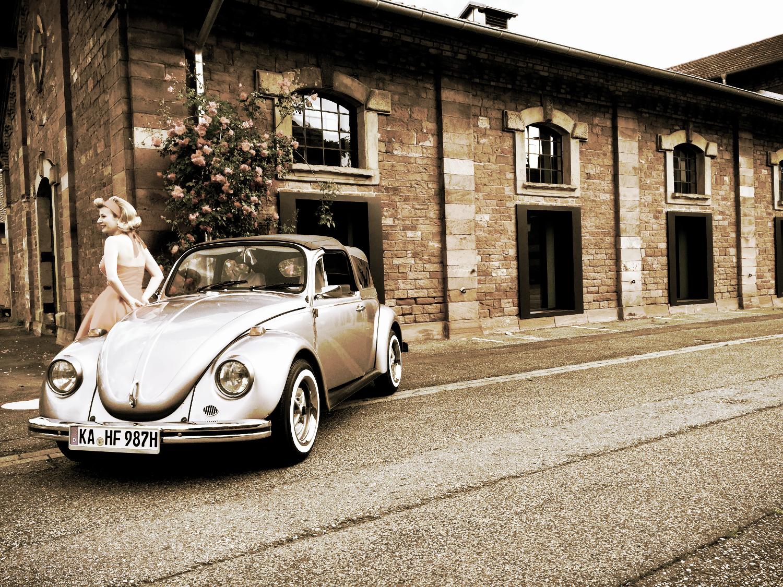 JGA mit Käfer Cabriolet