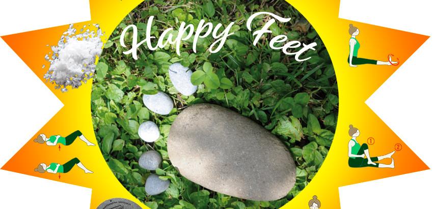 Happy feet beat the heat!