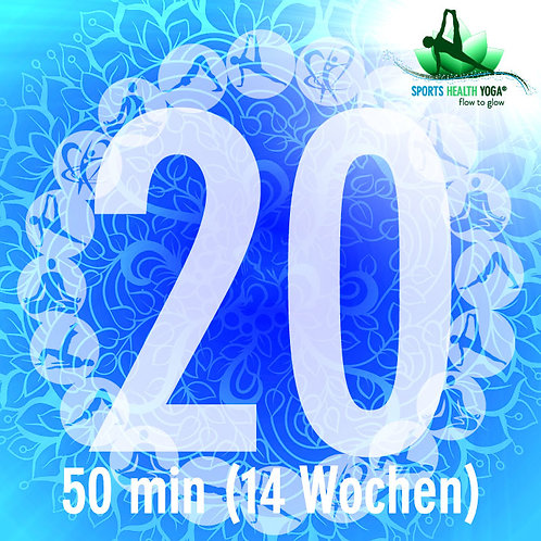 20er-Abo Kurzdauer bis 50 Minuten: Top-Preis CHF 19.75/Lektion (gültig 14 Wo)