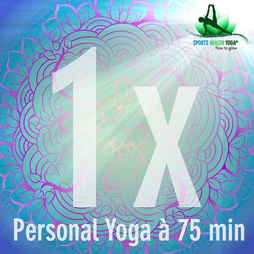 Personal Yoga 75 Minuten (max. 2 Personen)