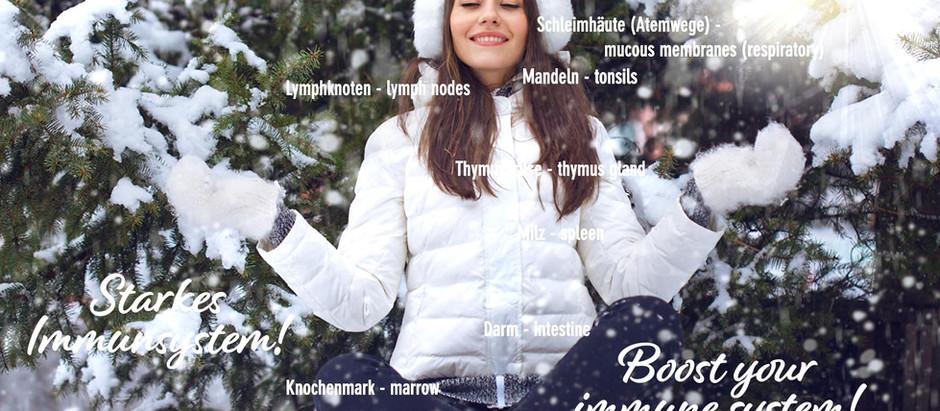 Starkes Immunsystem - noch kein Schnee von gestern!  Still topical: strong immune system!