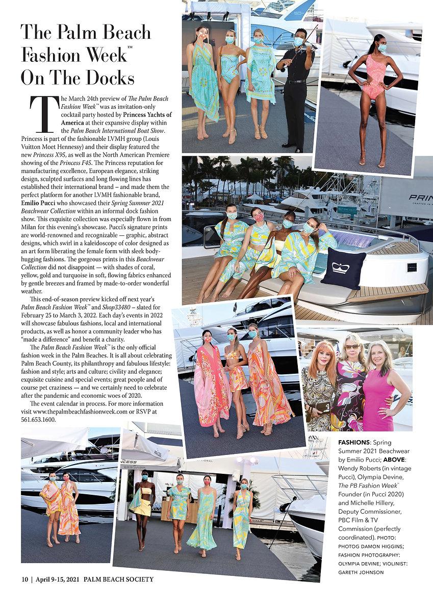 PB Society magazine Pucci - PB Fashion W