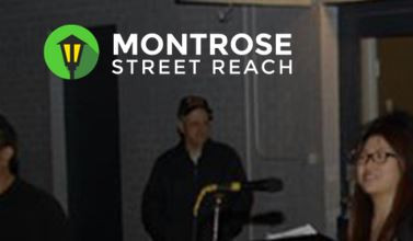 "Montrose Street Reach is a homeless ministry that Pines has had a ""hands-on"" relationship with."