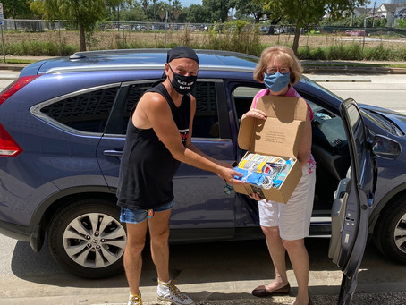 Delivered today: 130 masks to Coalition for the Homeless!