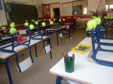 Reduzcamos ruido en aulas