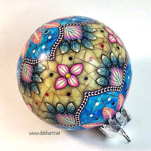 Southwestern Mandala Ornament Workbook