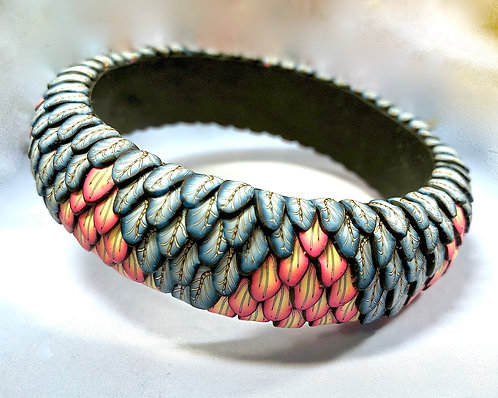 Layered ZigZag Bangle