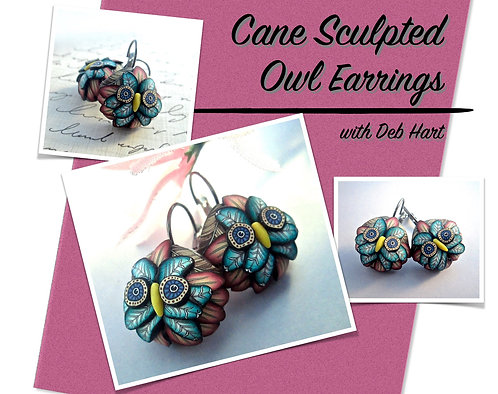 Owl Earrings Tutorial