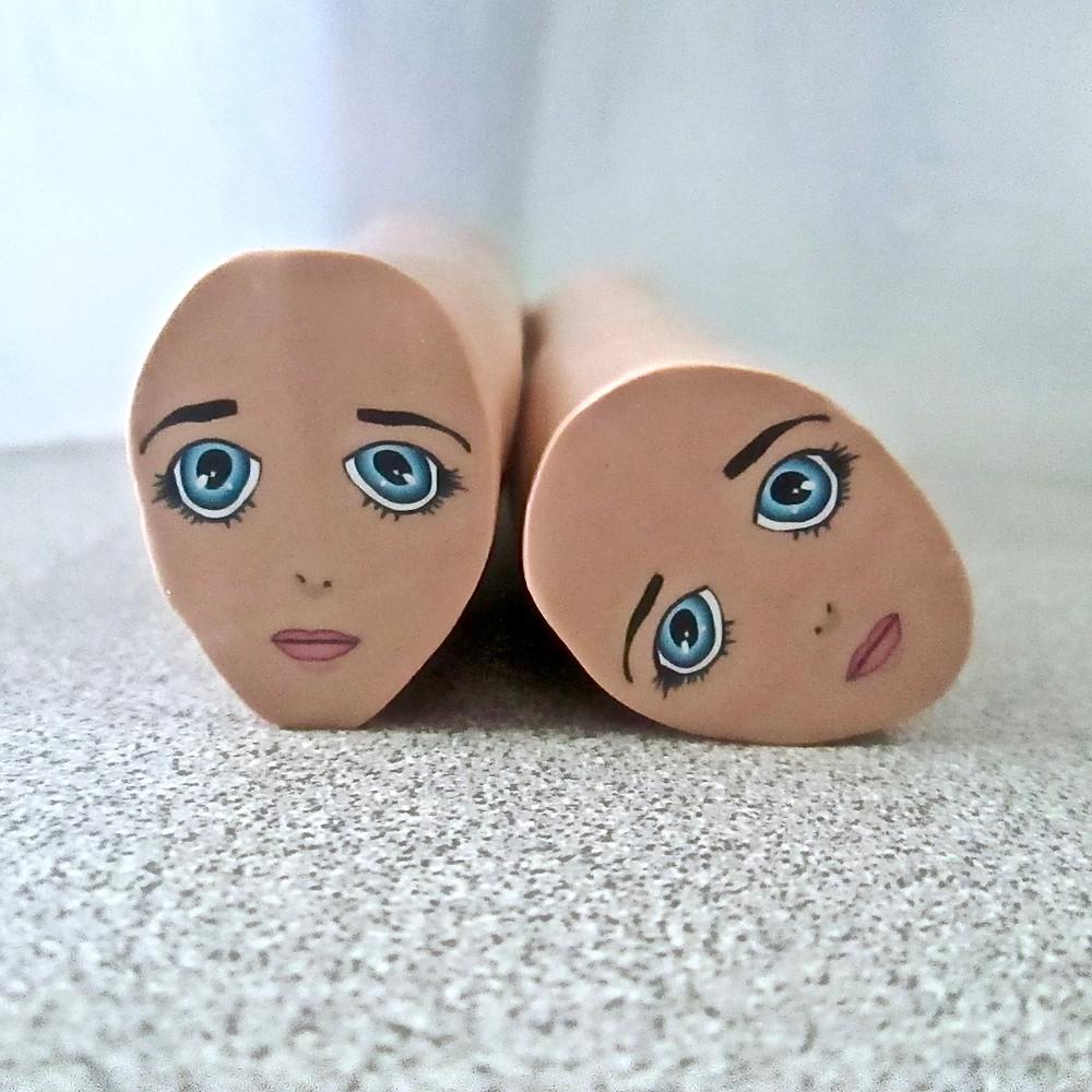 Anime Face Cane
