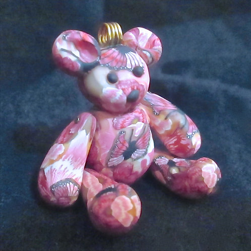Jointed Floral Bear
