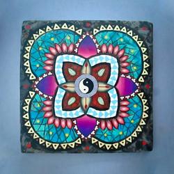 YinYang Mandala Tile
