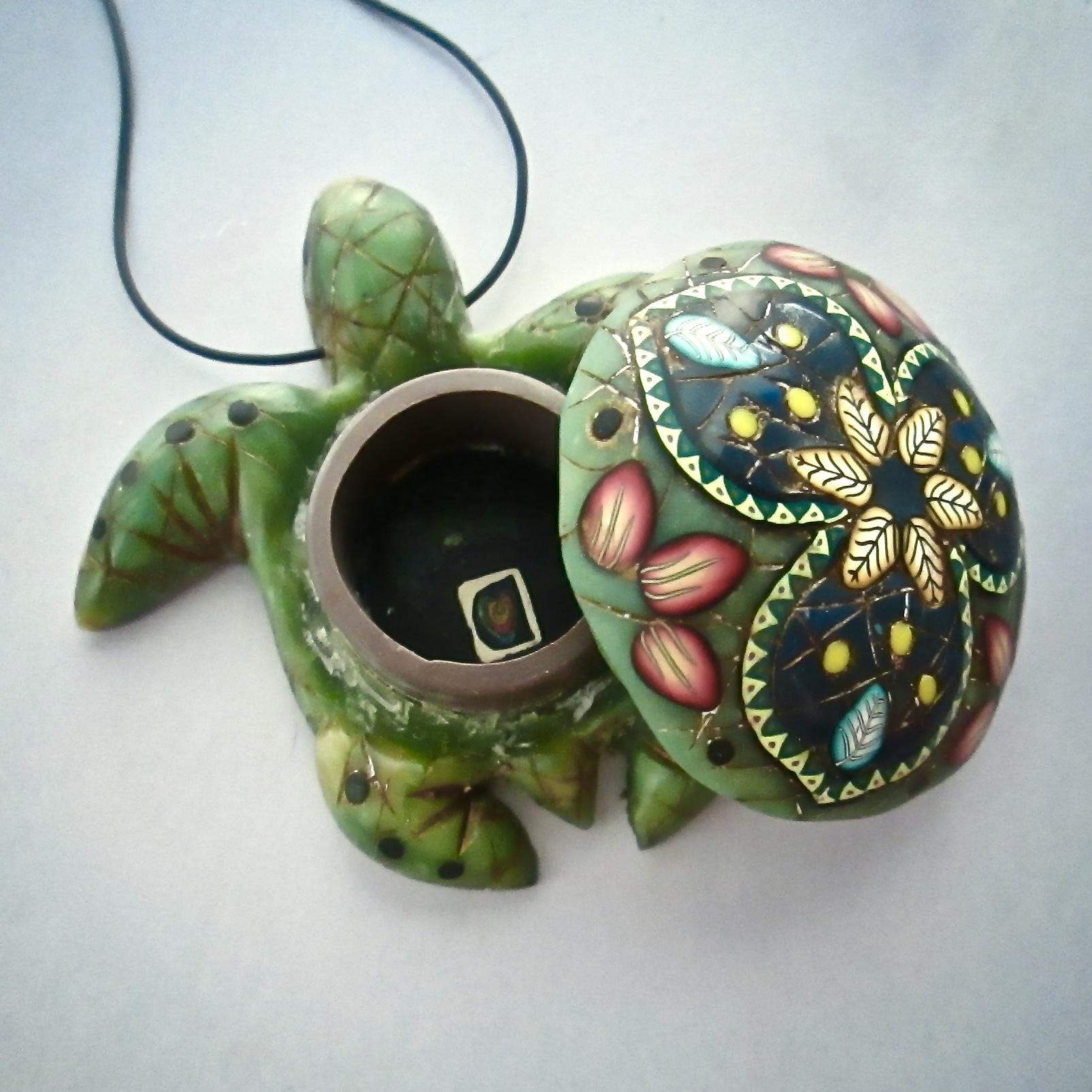 Small Jade Mandala Turtle