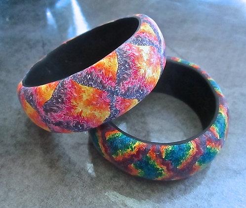 Tie Dye Bangle