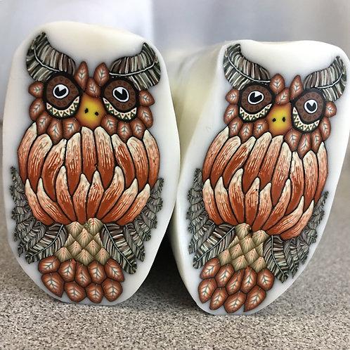 Horned Owl Cane