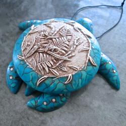 Ivory & Turquoise Sea Turtle Box
