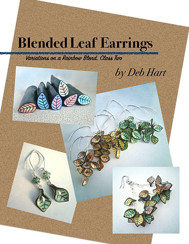 Blended Leaf Earrings Tutorial