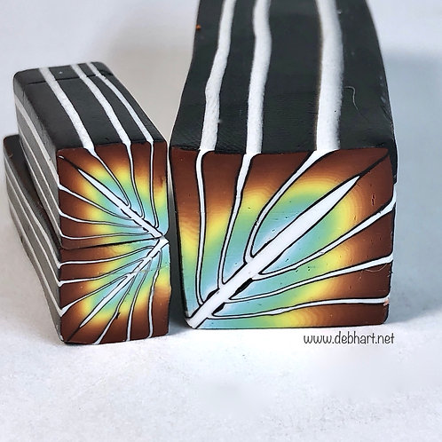 Double Blend Rainbow Art Deco Cane