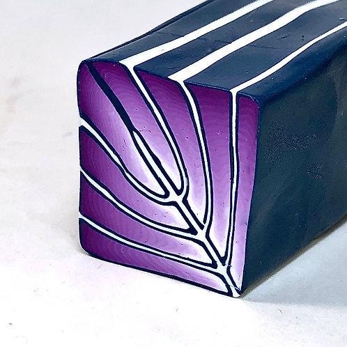 Art Deco Cane - Deep Purple