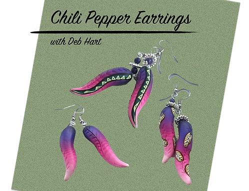 Chili Pepper Earrings Tutorial