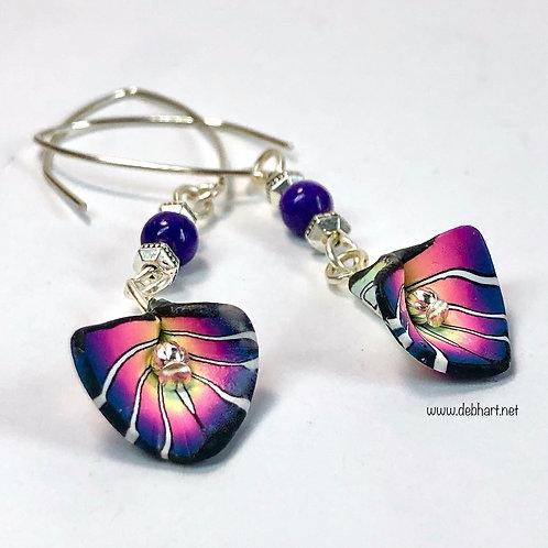 Deco Petal Earrings