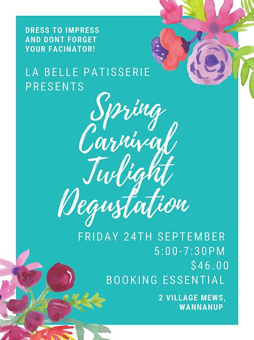 Spring Carnival Twilight Degustation