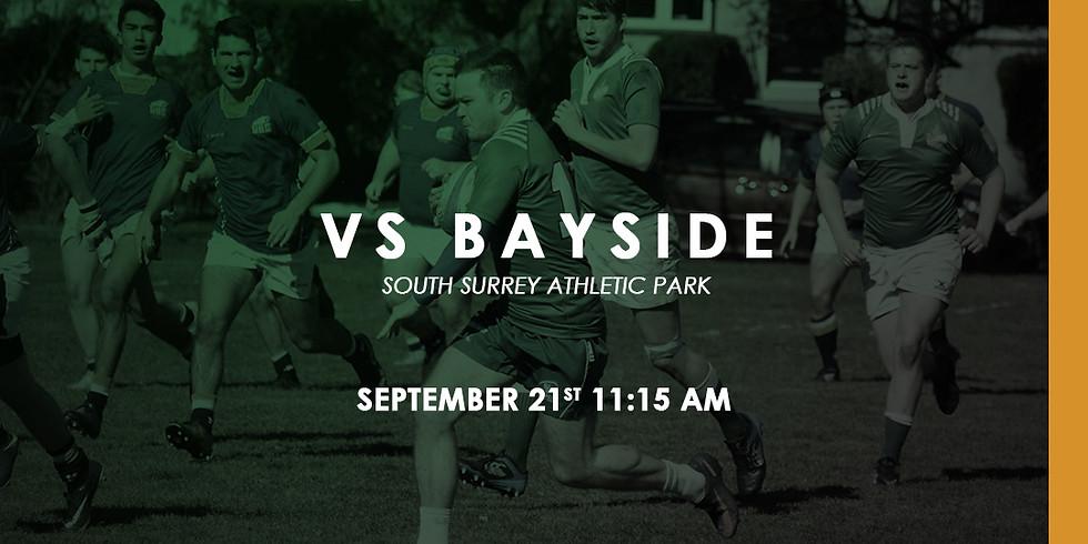 Kats vs Bayside