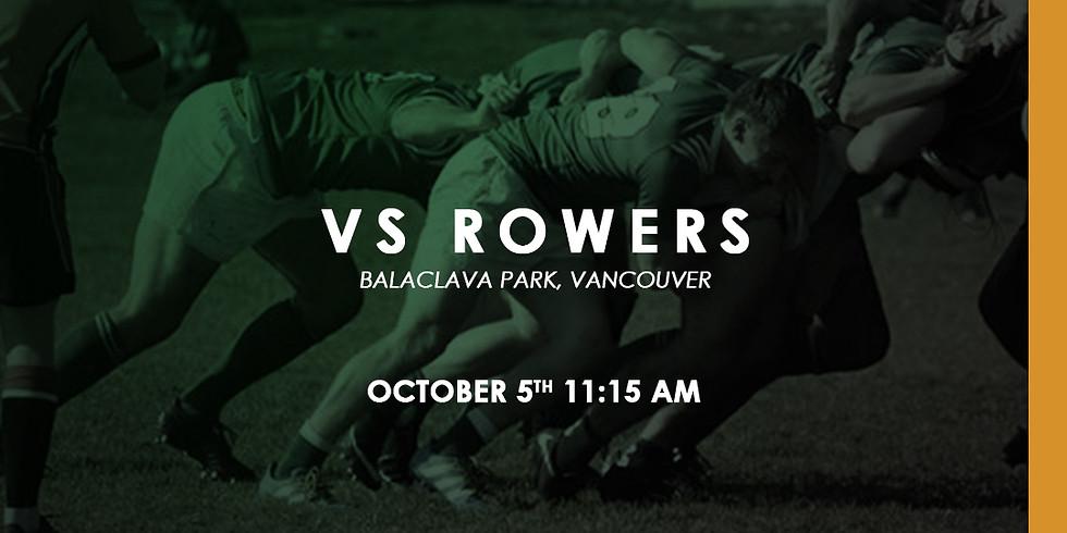 Kats vs Vancouver Rowing Club