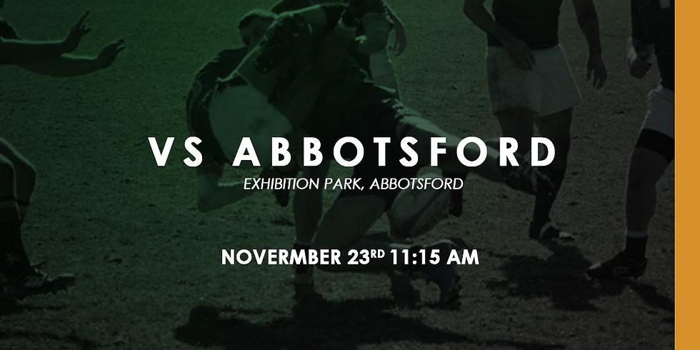 Kats vs Abbotsford