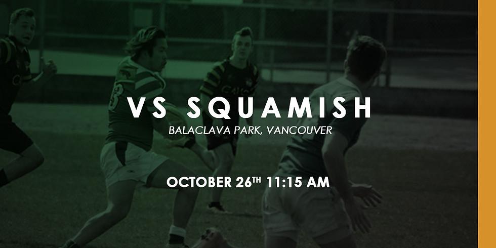 Kats vs Squamish Axemen
