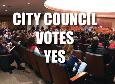 City Council Votes YES