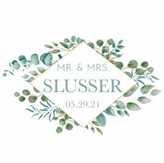 Slusser Wedding Album