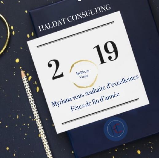 Bonne Fêtes de fin d'année ! Que 2019 vous apporte tout ce dont vous désirez ! Et surtout, gardez votre optimiste et votre joie de vivre !