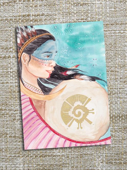 Peinture « Hunab Ku » Aquarelle