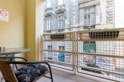 Small balcony