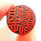 Thumbnail: 黒水牛 実印 15.0mm 職人気質逸品もの 『深彫』 手書き開運書体 本トカゲケース付