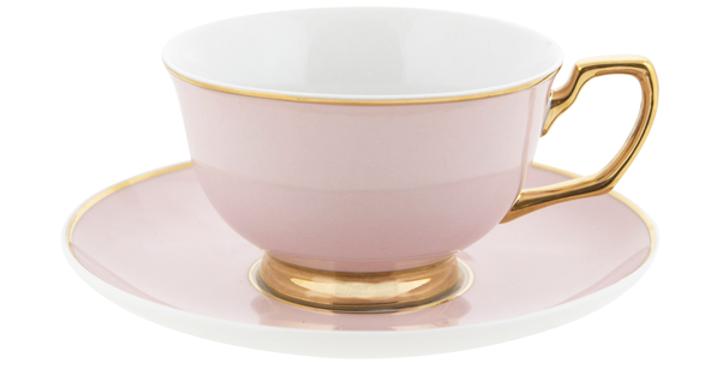 Teacup & Saucer - Blush