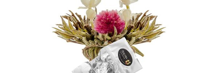 Passionfruit Potion Blooming Tea (4 individually wrapped balls)