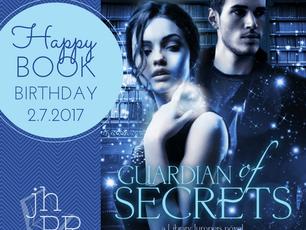 Happy Book Birthday--Guardian of Secrets