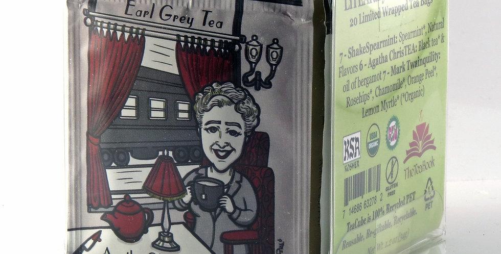 LiTEArary Series Organic Tea Sampler - Earl Grey - Mint - Chamomile & Fruit