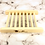 Thumbnail: Natural Wide Slat Bamboo Soap Dish Zero Waste **Eco Friendly