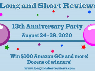 Long&Short Reviews Anniversary Party BlogFest